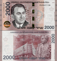 Armenia 2018 - 2000 Dram - Pick NEW UNC - Armenia