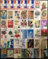 France Cartes Maximum - Lot De 42 Cartes Maximum - Thématique Divers - Cartas Máxima