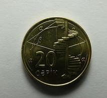 Azerbaijan 20 Qapik 2006 - Azerbaiyán