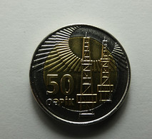 Azerbaijan 50 Qapik 2006 - Azerbaïjan