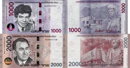 Armenia 2018 - Set 1000+2000 Dram - Pick NEW UNC - Armenia