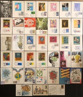 France Cartes Maximum - Lot De 35 Cartes Maximum - Thématique Divers - Cartas Máxima