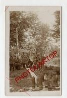 JEU De QUILLES Avec Des OBUS-Divertissements-CARTE PHOTO Allemande-Guerre 14-18-1WK-Militaria- - War 1914-18
