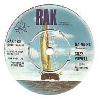 "Cozy Powell   ""   Na Na Na "" - Vinyles"