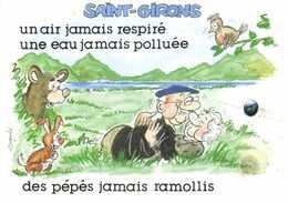 Alexandre SAINT GIRONS  Un Air Jamais Respiré Une Eau Jamais Polluée  Des Pépés Jamais Ramollis Ours Lapin Oiseau  RV - Saint Girons