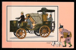 "TINTIN / Chromo ""Voir Et Savoir"" Par Hergé : Automobile N° 27 - Edition DARGAUD. - Other"