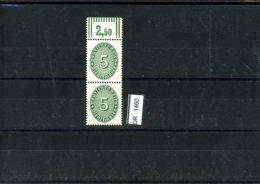 Deutsches Reich, Xx, Dienst, WOR 115 - Dienstpost