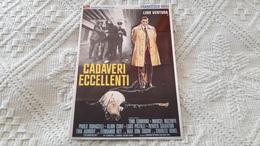 Film Cadaveri Eccellenti Francesco Rosi Lino Ventura Tino Carraro - Manifesti Su Carta