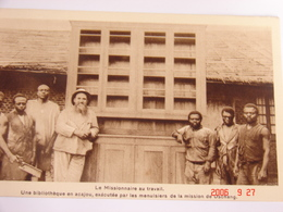 C.P.A.- Afrique - Cameroun - Missions Prêtres Sacré Coeur - Dschang Et Ses Menuisiers - 1950 - SUP (BD70) - Cameroun