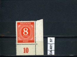 All. Besetzung, Gemeinschaftsausgaben, Xx, 917 Ecke Rechts Unten - American,British And Russian Zone
