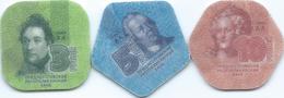 Transnistria - 2014 - 3, 5 & 10 Rubles - Composite Material - Moldova