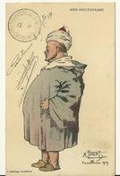 CASABLANCA 1909 / GROS FONCTIONNAIRE - ILLUSTRATION R. TUGOT - Morocco