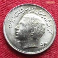 Iran 1 Rial 1975  / SH 1354 KM# 1183  Lt 241 Fao F.a.o.  Irão Persia Persien - Iran
