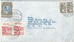 Ausland Brief  Cali - Philadelphia         1946 - Colombia