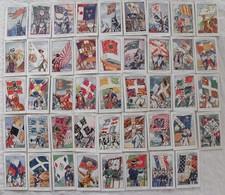 """Pâtes Bozon Verduraz. Une Image Au Choix De La Série F  De L'album D'images Chromo """"drapeaux Français"""". Vers 1930. - Trade Cards"""