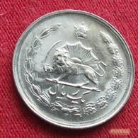 Iran 1 Rial 1975  / SH 1354 KM# 1171a  Lt 376  Irão Persia Persien - Iran