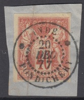 #135 COLONIES GENERALES N° 27 Oblitéré Pondichéry (Inde)   LUXE - Sage