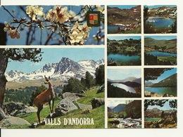VALLS D' ANDORRA / Avec PHILATELIE PAPILLON - Andorre