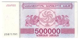 Georgia 500000 Lari 1994 UNC .C4. - Géorgie