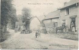 76 - Hodeng-au -Bosc .Rue De De L'église . - France