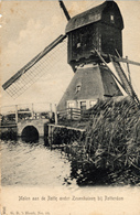 Alblasserwaard, Hornaar, Scheiwijkse Molen, Rotte Onder Zevenhuizen Bij Rotterdam - Nederland