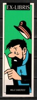 Tintin : 1 Ex-libris Tintin : Capitaine Haddock. - Exlibris