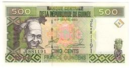 Guinea 500 Francs 1998 UNC .C4. - Guinea
