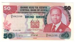 Kenya 50 Shillings 01/07/1980 UNC .C4. - Kenia