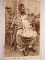 C.P.A.- Afrique - Cameroun - Missions Prêtres Sacré Coeur - Chef Fokwé En Tenue - 1950 - SUP (BD74) - Cameroun