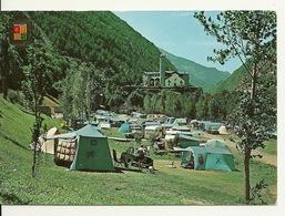 VALLS D' ANDORRA / ENCAMP - CAMPING LA FONTAINE Avec PHILATELIE CROIX GOTHIQUE - Andorre