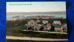 Pembroke Dockyard From Barrack Hill Wales - Pembrokeshire