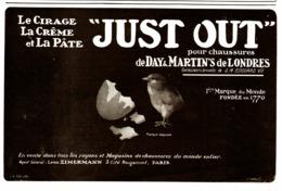 """PUB CIRAGE  """" JUST OUT """"  1909 ( 1 ) - Autres"""