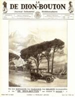 """PUB VEHICULES  """" DE DION-BOUTON """"  1909 ( 13 ) - Voitures"""