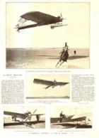 """UN NOUVEL AEROPLANE  """" ANTOINETTE """"   1909 - Transports"""