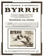 """PUB    """" BYRRH  """" ( CONCOURS Du BYRRH )  1909  ( 62 ) - Alcohols"""