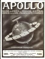 "PUB RASOIR  "" APOLLO ""   1909 ( 1 ) - Perfume & Beauty"