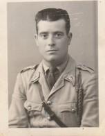 Photo Militaire : Portrait D'un Soldat Du 7é R.T.A. 2é Bat. C.b.2 - Guerra, Militares