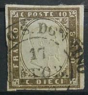A.S.SARDEGNA 10c BISTRO.Usato  (Awei-96 - Sardaigne