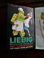 Boekje   Rond 1953 -55             LIEBIG    Het HANDBOEK             UITGEVER   Cie  LIEBIG   Meir  ABTWERPEN - Publicités