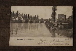 Auvelais  Cpa Pk Deversoir - Sambreville