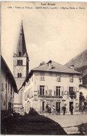 SAINT PAUL - Vallée De L' Ubaye - L' Eglise, Ecole Et Mairie    (112904) - France