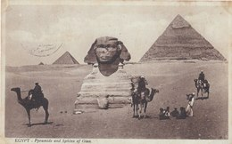Pyramids And Sphinx Of Giza - Gizeh