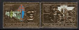 GUINEE - DE GAULLE - PA  N° 250 +MI1297 **  (1991) - De Gaulle (General)