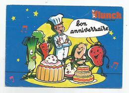 """59 Nord - Villeneuve D'ascq Le Restaurant Flunch Rue Van Gogh """" Bon Anniversaire 1987 """" - Villeneuve D'Ascq"""