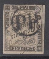 #135 COLONIES GENERALES TAXE N° 9 Oblitéré PP (Réunion)  RARE Sur Taxe - Postage Due