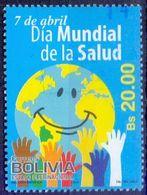 Used Bolivia 2013, World Health Day 1V. - Bolivie
