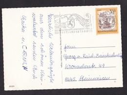 Austria: PPC Picture Postcard, 1 Stamp, Special Rate, Sondertarif Hirschegg Kleinwalsertal (corner Crease) - 1981-90 Brieven