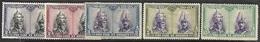 Spain  1928  Sc#B74-5, B77-8, B80  5 Diff Santiagos  MH  2016 Scott Value $4.90 - Ungebraucht