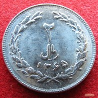 Iran 2 Rials 1986 / SH 1365 KM# 1233 Lt 49 Irão Persia Persien - Iran