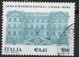 ITALIA  REPUBBLICA 2001 SCUOLE D'ITALIA SASS. 2567 USATO VF - 2001-10: Usati